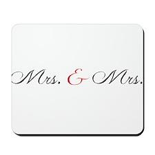 Mrs. Mrs. Mousepad