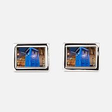 glasgow police box Rectangular Cufflinks