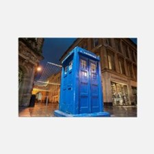 glasgow police box Rectangle Magnet