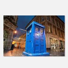 glasgow police box Postcards (Package of 8)