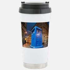 glasgow police box Stainless Steel Travel Mug