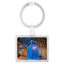 glasgow police box Landscape Keychain