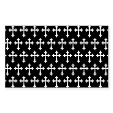 Gothic Crosses Pattern Decal