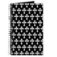 Gothic Crosses Pattern Journal