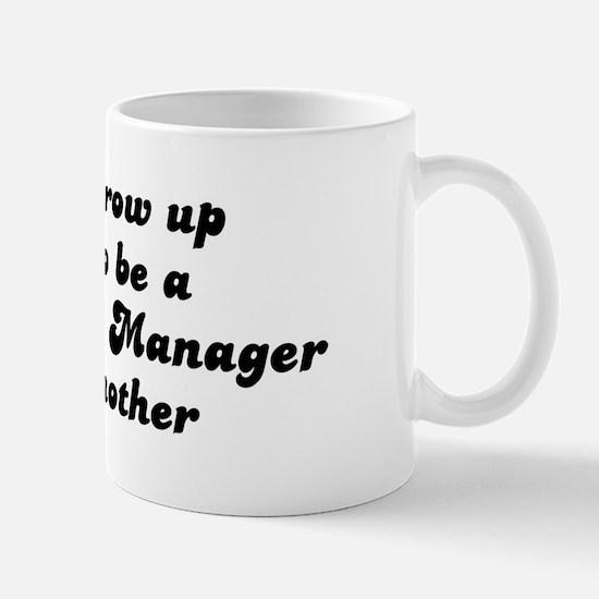 Food Service Manager like my  Mug