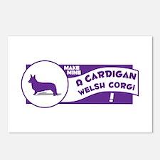 Make Mine Cardigan Postcards (Package of 8)