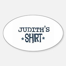 Judith Oval Decal
