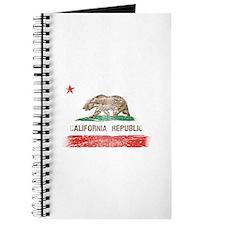Distressed California Republic State Flag Journal