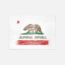 Distressed California Republic State Flag 5'x7'Are