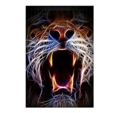 Electrified Tiger Postcards (Package of 8)