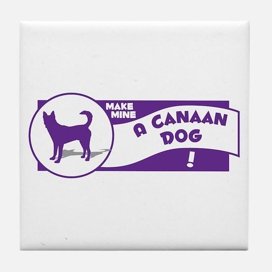 Make Mine Canaan Tile Coaster