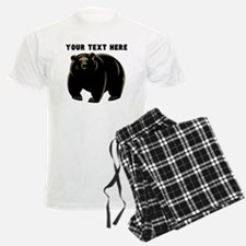 Custom Black Bear Pajamas