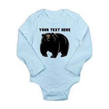 Custom Black Bear Body Suit