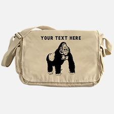 Custom Silverback Gorilla Messenger Bag