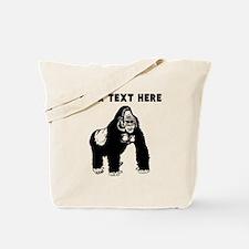 Custom Silverback Gorilla Tote Bag