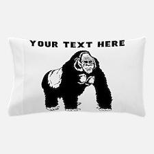 Custom Silverback Gorilla Pillow Case