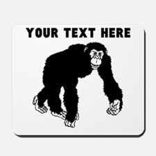 Custom Chimpanzee Mousepad