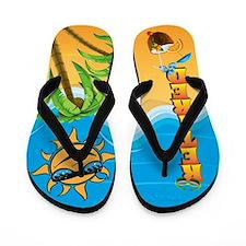 Retired Beach Flip Flops