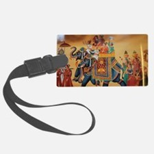 INDIAN ROYALTY ON ELEPHANTS Luggage Tag
