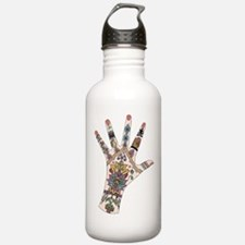 DRs Mehndi hand Water Bottle