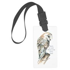 No Such Thing As Too Many Owls Luggage Tag
