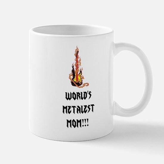 Worlds Metalest Mom!!! Mugs