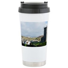 Old stone church and co Travel Mug