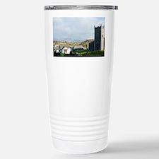 Old stone church and co Travel Mug