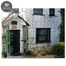 Picturesque cottage in Hawkshead Puzzle