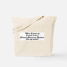 Human Resources Student like  Tote Bag