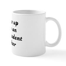 Economics Student like my mot Coffee Mug
