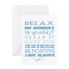 Life Lessons Greeting Card