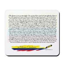 50 refranes Colombianos Mousepad