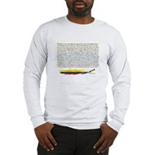 50 refranes Colombianos Long Sleeve T-Shirt