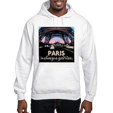 Paris France Hoodie