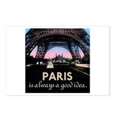Paris France Postcards (Package of 8)