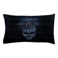 Gothic Skull City Pillow Case