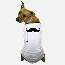 Mustache on a stick Dog T-Shirt