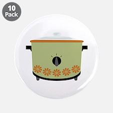 "Crock Pot Slow Cooker 3.5"" Button (10 pack)"