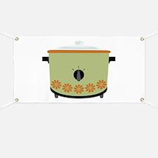 Crock Pot Slow Cooker Banner