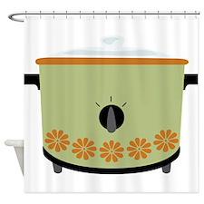 Crock Pot Slow Cooker Shower Curtain