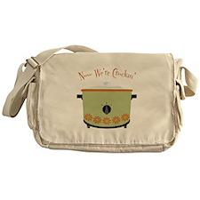 Now Were Crockin Messenger Bag