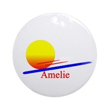 Amelie Ornament (Round)