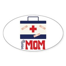 nurse MOM Decal