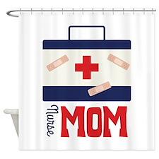 nurse MOM Shower Curtain