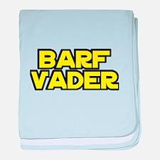 Barf Vader baby blanket