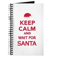 Keep calm and wait for Santa Journal