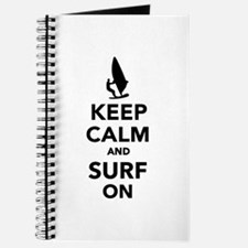 Keep calm and surf on Journal