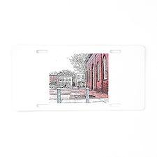 CONDI RICE Aluminum License Plate