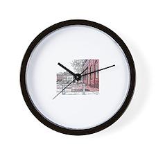 CONDI RICE Wall Clock